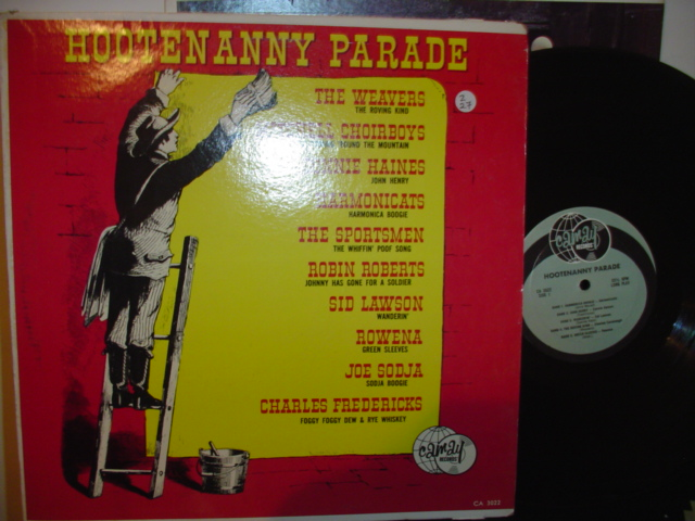 VARIOUS ARTISTS - HOOTENANNY PARADE Z 27 - CAMAY